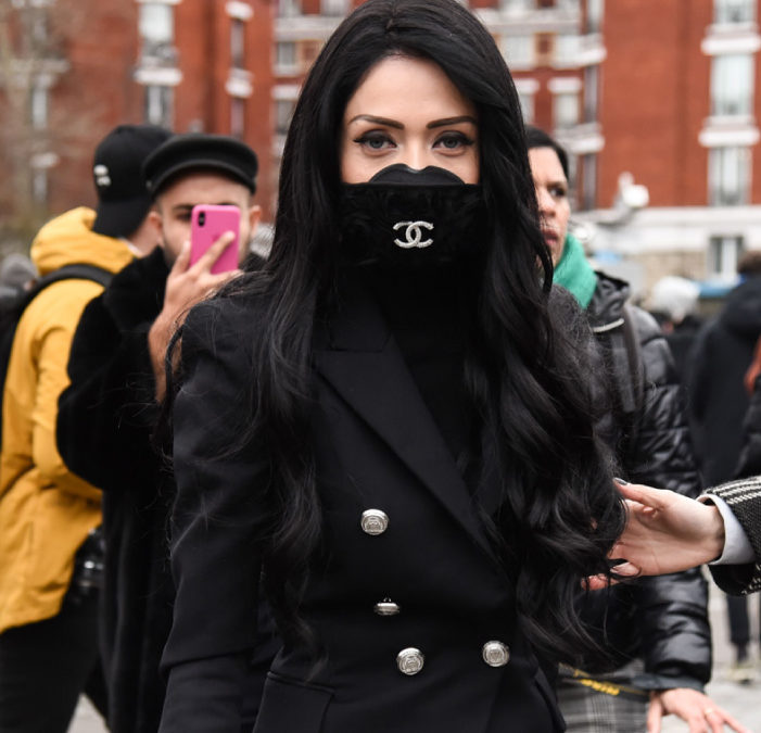 El mundo de la moda incorpora las mascarillas sanitarias